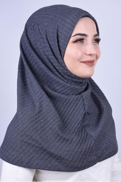 Bereli Triko Hijab Antrasit