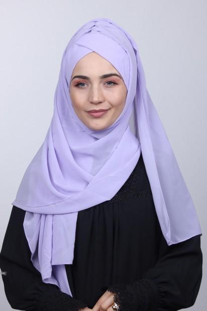 Bone Şal Lila
