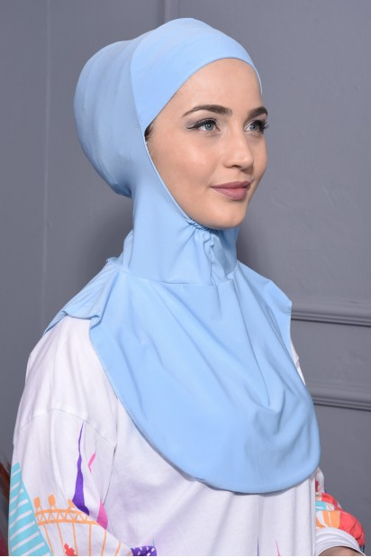 Boyunluk Hijab Bebe Mavisi