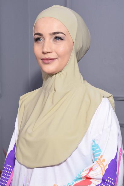 Boyunluk Hijab Bej