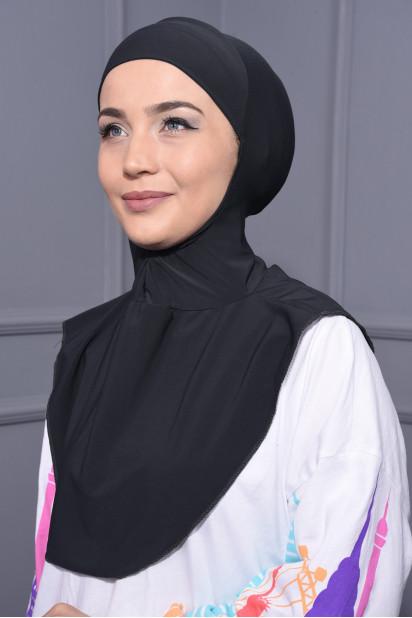 Boyunluk Hijab Füme