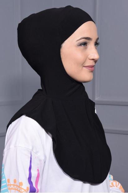 Boyunluk Hijab Siyah