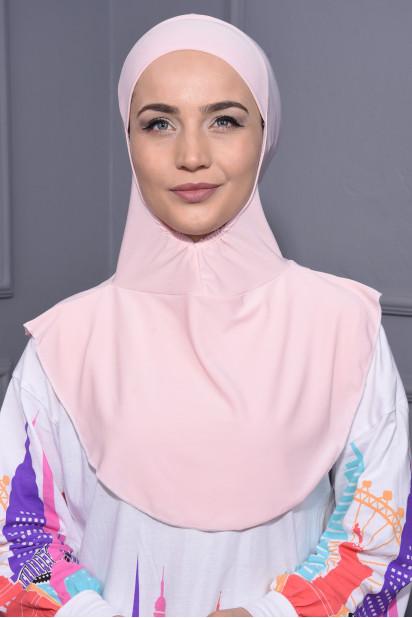Boyunluk Hijab Somon
