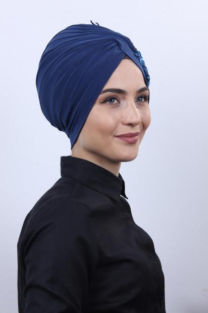 Güpürlü Vera Bone İndigo