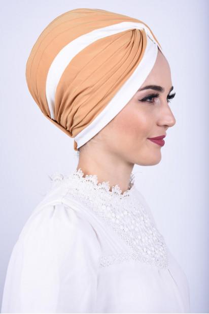 İki Renkli Vera Bone Hardal Sarısı