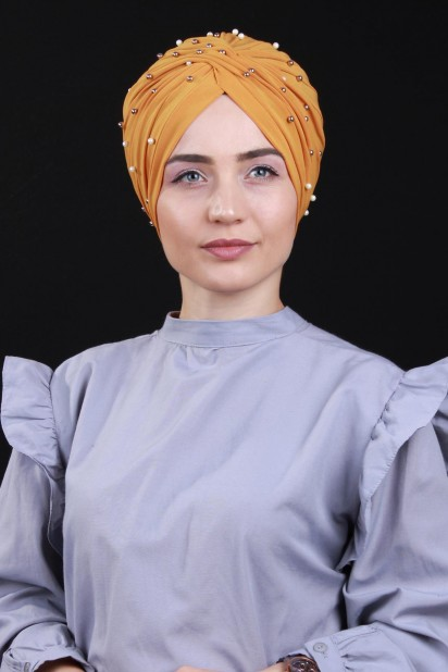 İncili Vera Bone Hardal Sarısı