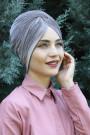 Kadife Payetli Vera Bone Vizon