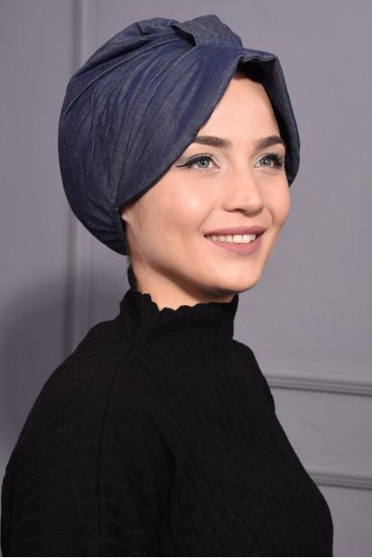 Kot Şapka Bone Kot Mavisi