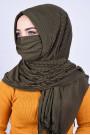 Maskeli Şal Haki Yeşili