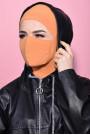 Maskeli Spor Hijab Hardal Sarısı