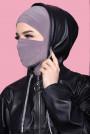Maskeli Spor Hijab Vizon