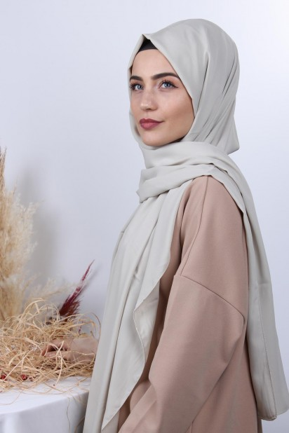Medine İpeği Şal Bej