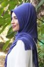 Pratik Hijab Şal Eflatun