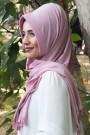 Pratik Hijab Şal Pudra Pembesi