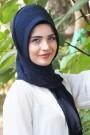 Pratik Hijab Şal Lacivert