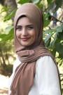Pratik Hijab Şal Taba