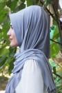 Pratik Hijab Şal Gümüş Gri
