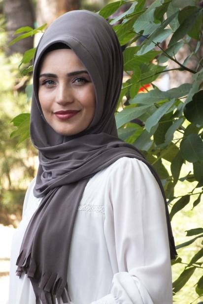 Pratik Hijab Şal Vizon
