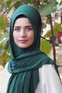 Pratik Hijab Şal Zümrüt Yeşili
