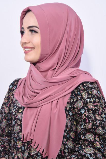 Pratik Hijab Şal Gül Kurusu