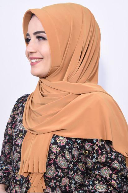 Pratik Hijab Şal Hardal Sarısı