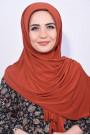 Pratik Hijab Şal Kiremit