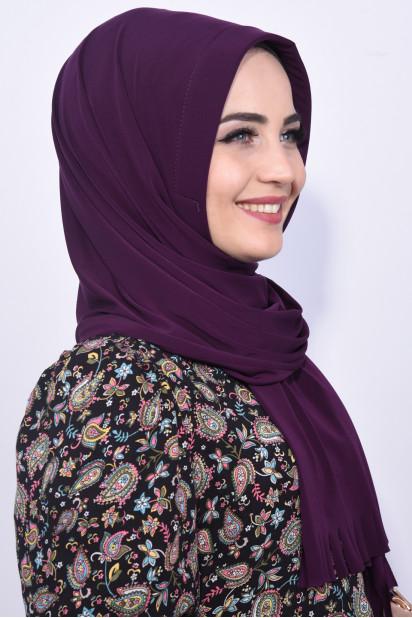 Pratik Hijab Şal Mor