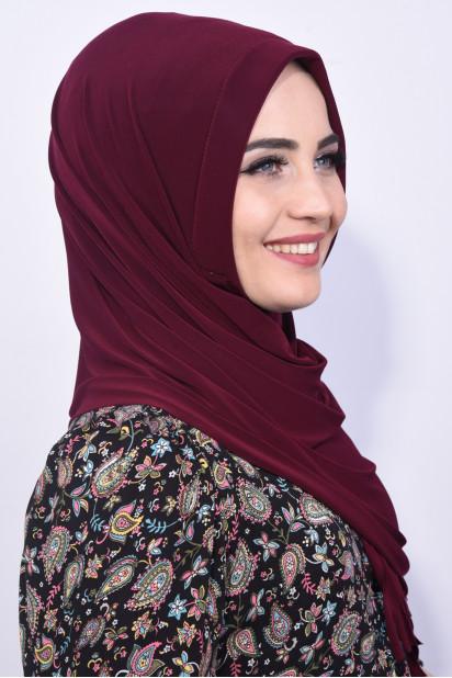 Pratik Hijab Şal Mürdüm