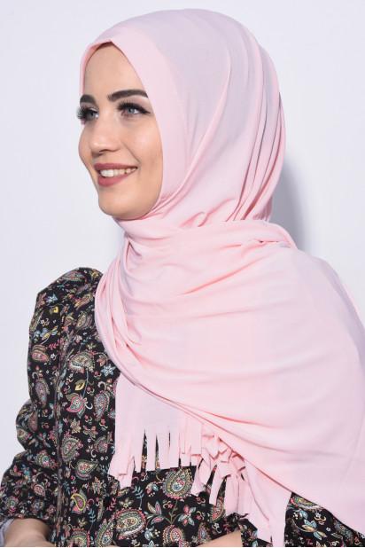 Pratik Hijab Şal Somon