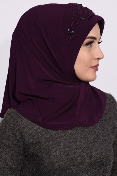 Pratik Pullu Hijab Mürdüm