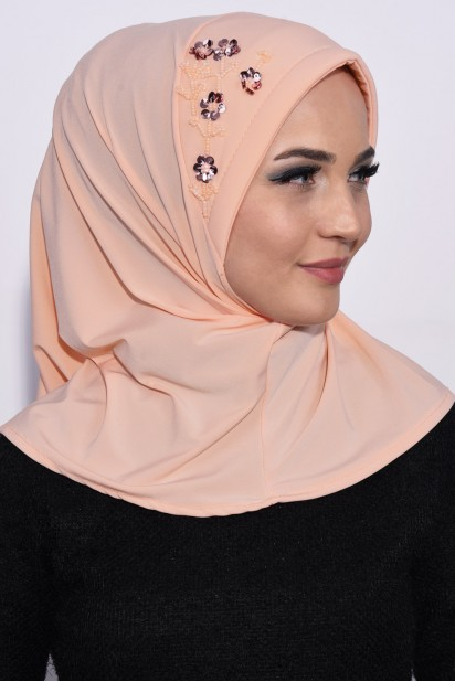 Pratik Pullu Hijab Yavruağzı