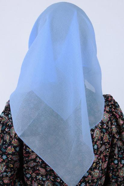 Prenses Eşarp Bebe Mavisi
