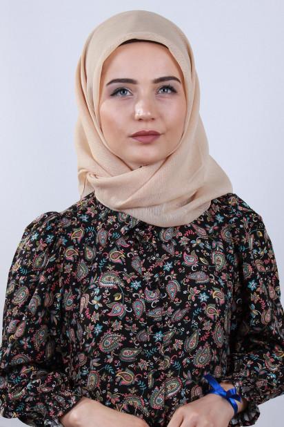 Prenses Eşarp Bej