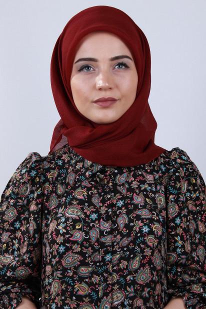 Prenses Eşarp Bordo