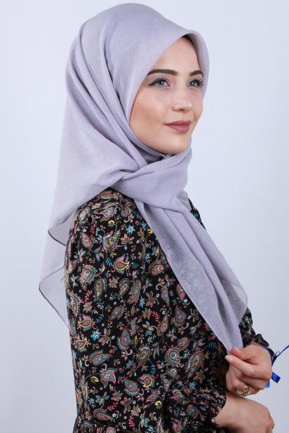 Prenses Eşarp Gri