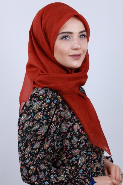 Prenses Eşarp Kiremit