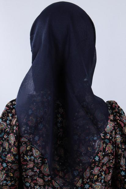 Prenses Eşarp Lacivert