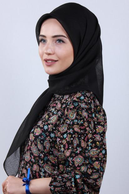 Prenses Eşarp Siyah