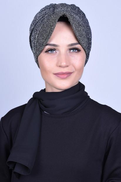 Simli Şapka Bone Antrasit