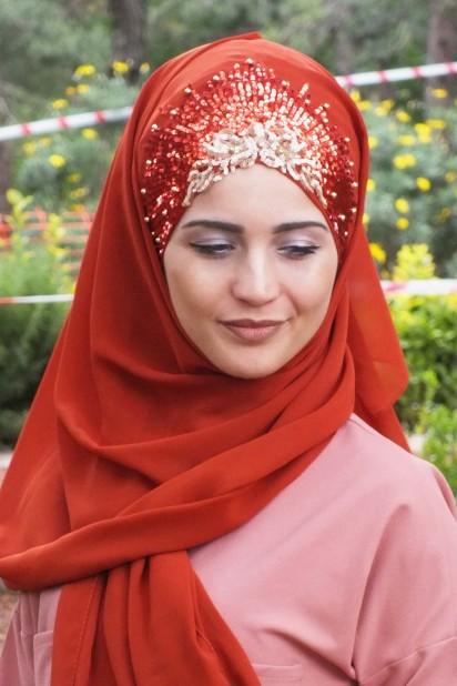 Tasarım Prenses Şal Kiremit