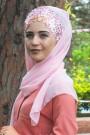 Tasarım Prenses Şal Somon