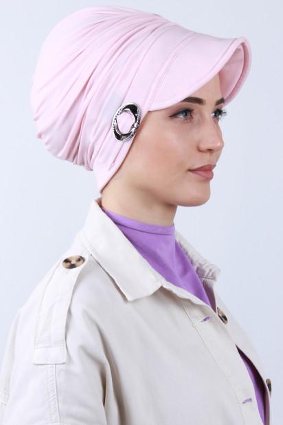 Tokalı Şapka Bone Somon