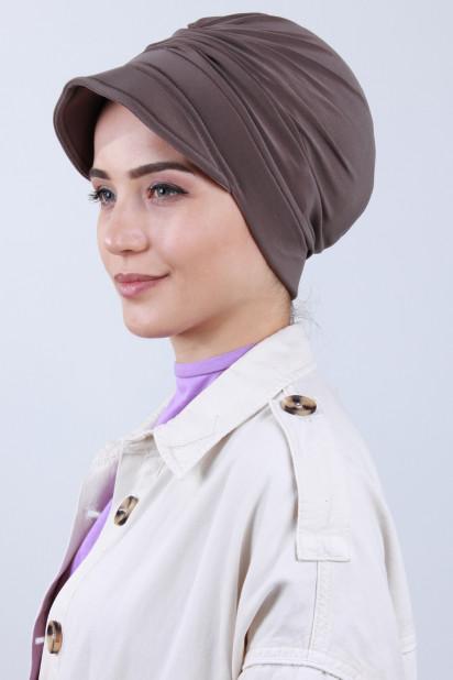 Tokalı Şapka Bone Vizon